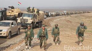 pourquoi des Forces peshmergas sont en route vers Kobani