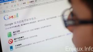 Gmail bloqué en Chine