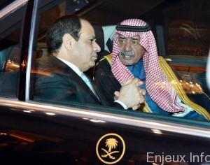 egypte-ksa-manoeuvre