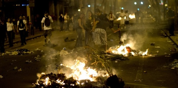 Vastes manifestations sociales au Brésil