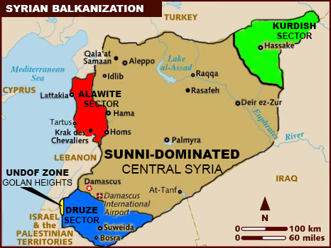 Syrie : ébauches d'une partition du pays