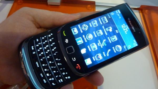 Quelle « Torch » pour éclairer Blackberry ?