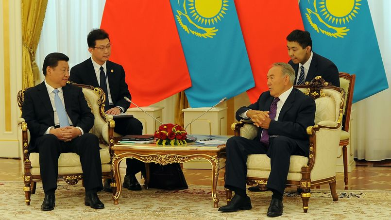 KAZAKHSTAN-CHINA-DIPLOMACY