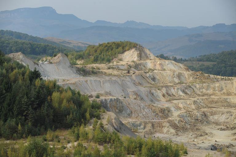 Roumanie : Rejet par le Sénat du projet minier de Rosia Montana