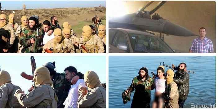 Comment EI a pu abattre un avion militaire de la coalition anti-jihadiste?