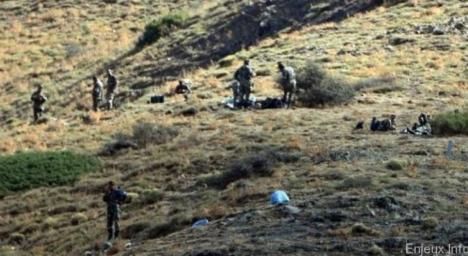 Algérie : Découverte par l'armée d'engins explosifs et des munitions
