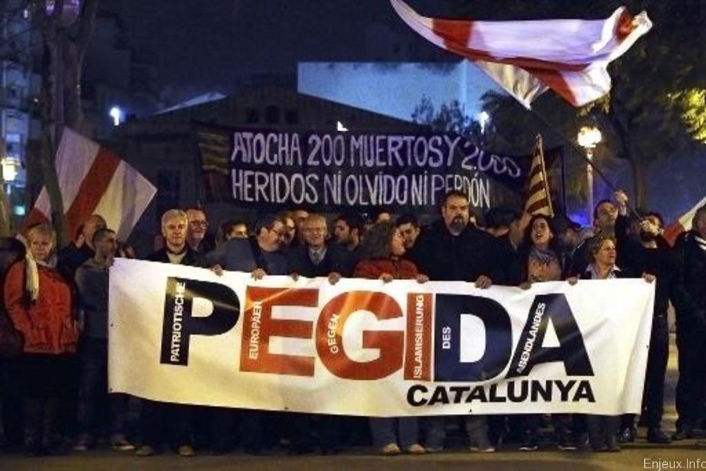 Le parti islamophobe Pegida fait ses premiers pas en Espagne