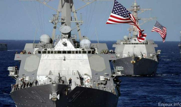Arraisonnement d'un bateau battant pavillon des Iles Marshall par la marine iranienne
