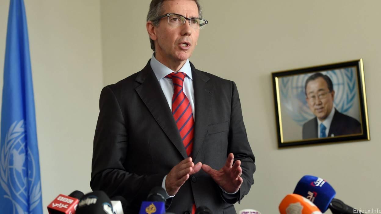 Le nouveau poste de Bernardino Leon ternit sa crédibilité à la tête la Mission de l'ONU en Libye