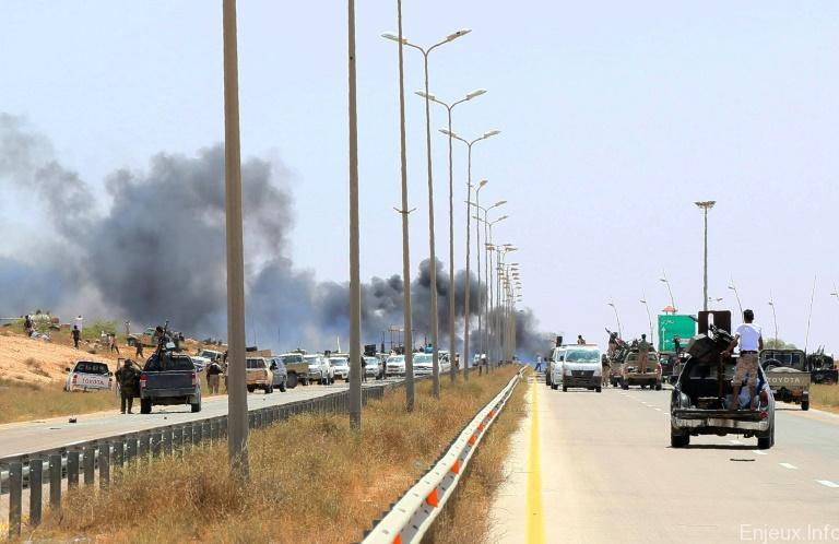 Libye : Explosion mortelle dans un dépôt d'armes à Garaboulli