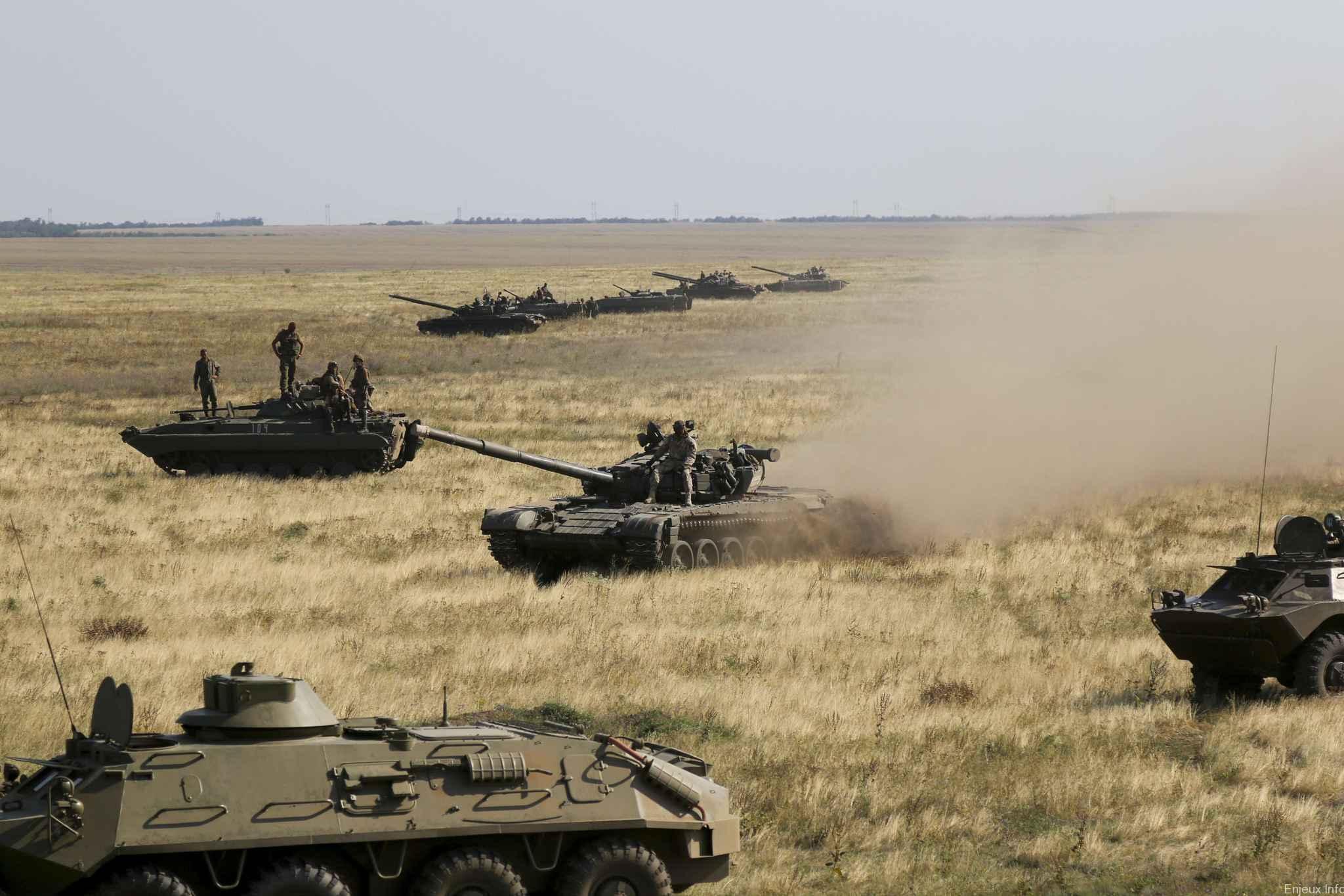 Regain de tension inquiétant entre la Russie et l'Ukraine