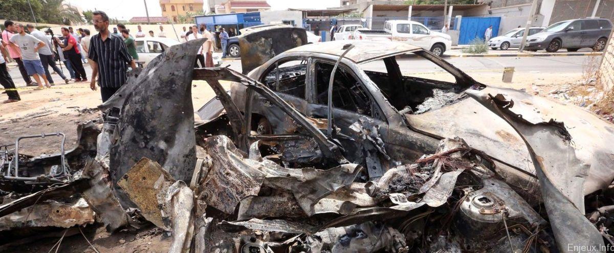 Explosion de deux voitures piégée à Tripoli sans faire de victimes
