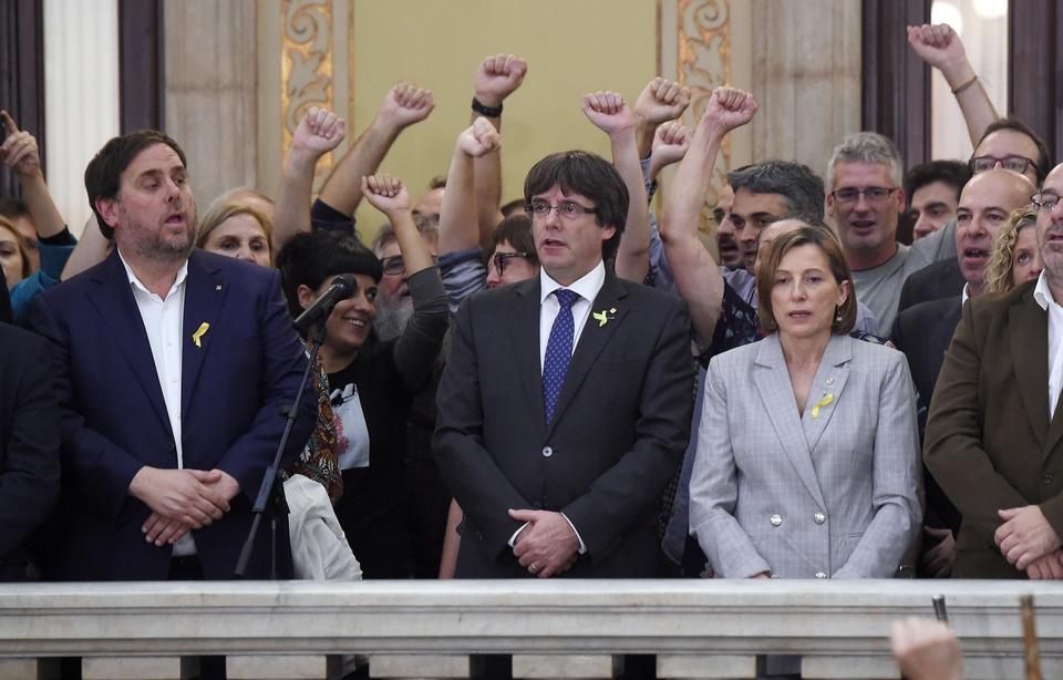Allemagne-Justice : Carles Puigdemont et trois de ses ministres en liberté sous conditions