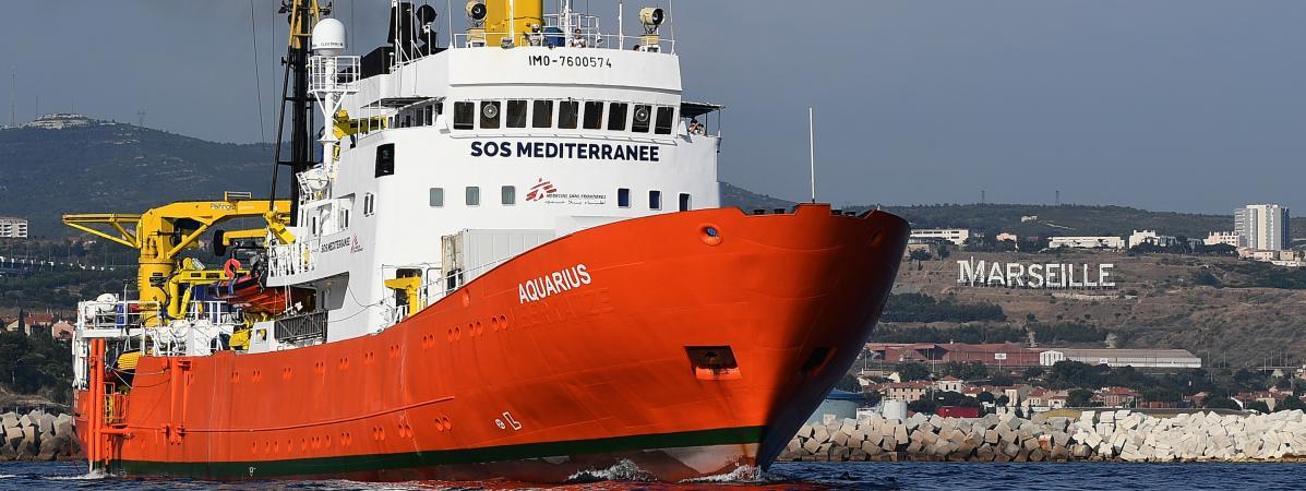 Malte offre un port d'accueil à l'Aquarius