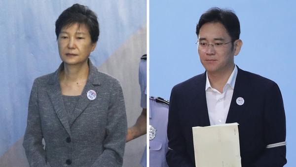 Corée du Sud : L'ancienne présidente et l'héritier de Samsung seront rejugés