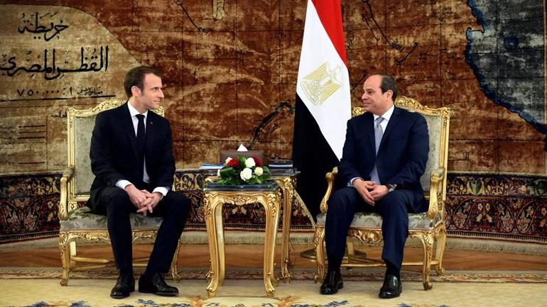 Les présidents français et égyptien se concertent sur la situation en Libye