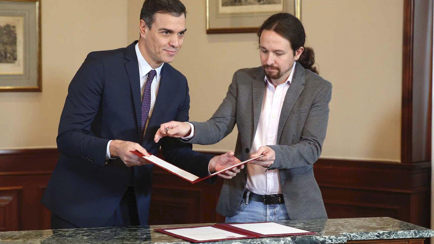 Espagne : Les socialistes et la gauche radicale signent un accord de principe pour former un gouvernement