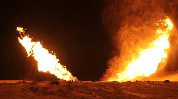 Explosion sur le pipeline reliant l'Egypte et Israël