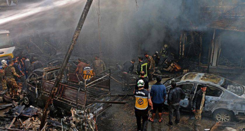 Au moins 45 morts dans un attentat au véhicule piégé dans le nord de la Syrie
