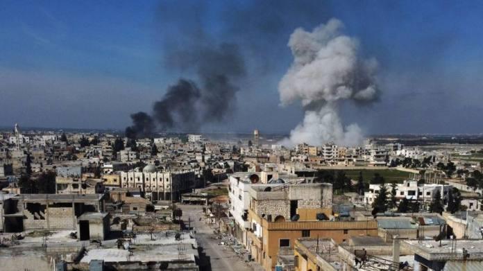 Syrie : premiers raids aériens russes en trois mois dans le nord-ouest du pays