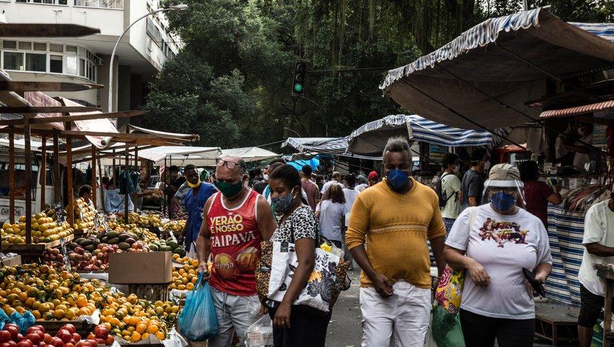 Le Brésil désormais deuxième pays au monde le plus endeuillé par le Covid-19
