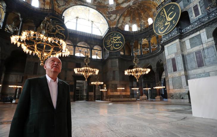 Turquie: première prière de vendredi à Sainte-Sophie transformée en mosquée