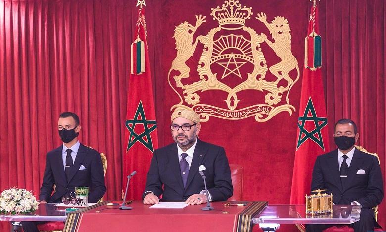Le Roi Mohammed VI appelle les Marocains à se ressaisir pour contenir la propagation du Covid-19