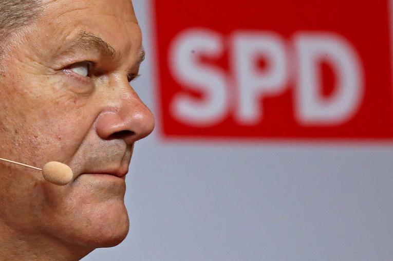 Allemagne : le parti social-démocrate dévoile son candidat à la chancellerie