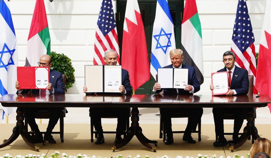 Signature à Washington d'accords de normalisation entre Israël, les Emirats arabes unis et Bahreïn
