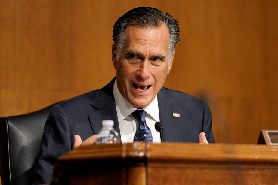 Etats-Unis : en pleine campagne électorale, le sénateur républicain Mitt Romney accable le président Trump
