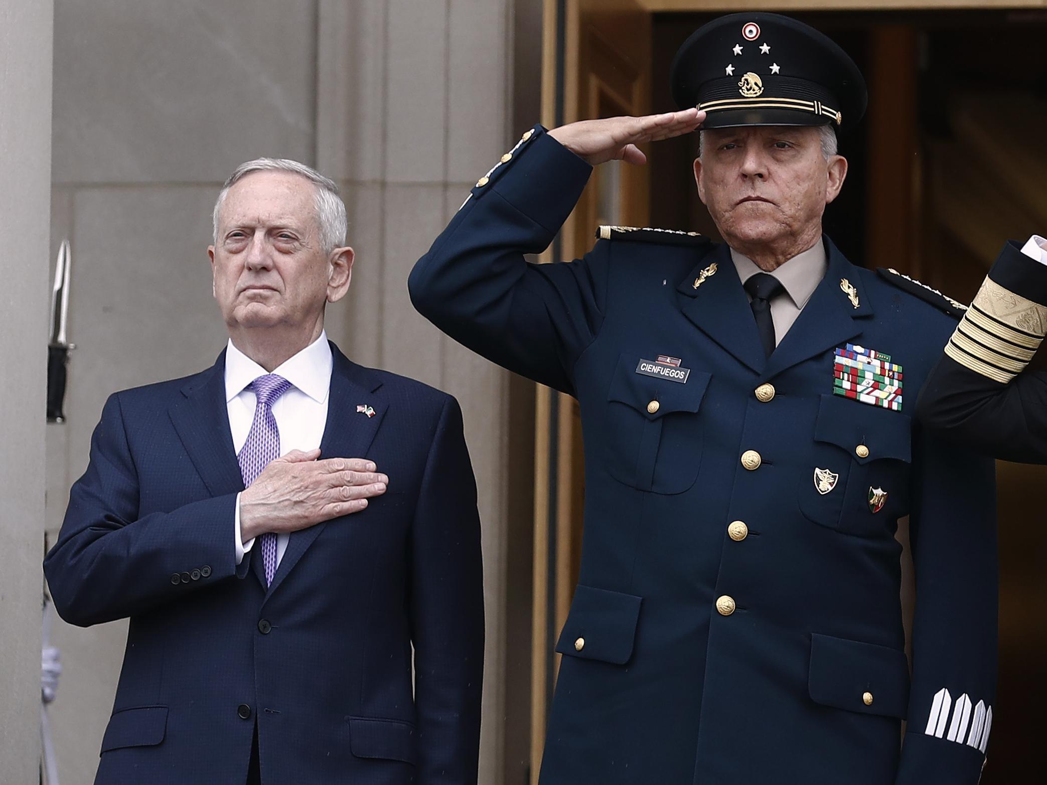 Un ex-ministre mexicain de la Défense interpellé aux Etats-Unis
