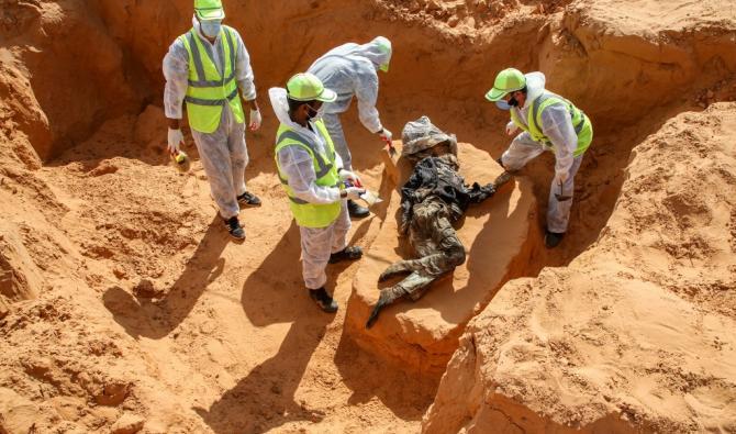 Libye : Découverte de cinq nouveaux charniers à Tarhouna