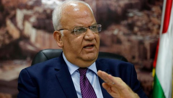 Israël : Décès du secrétaire général de l'OLP Saëb Erakat