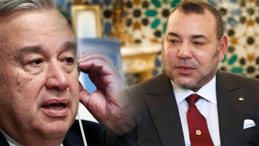 Sahara- Guergarate: Le Roi Mohammed VI réaffirme au SG de l'ONU l'attachement du Maroc au cessez-le-feu