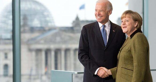 Merkel invite Biden à se rendre en Allemagne