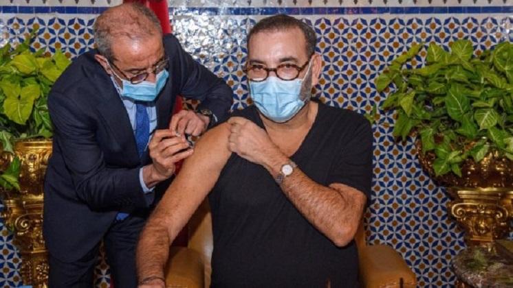 Le Roi du Maroc lance la campagne de Vaccination contre le covid-19