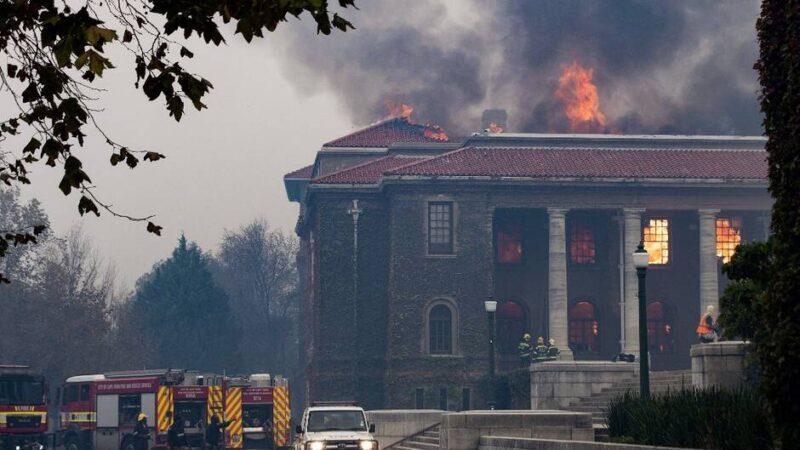 Afrique du Sud : La bibliothèque du Cap réduite en cendres