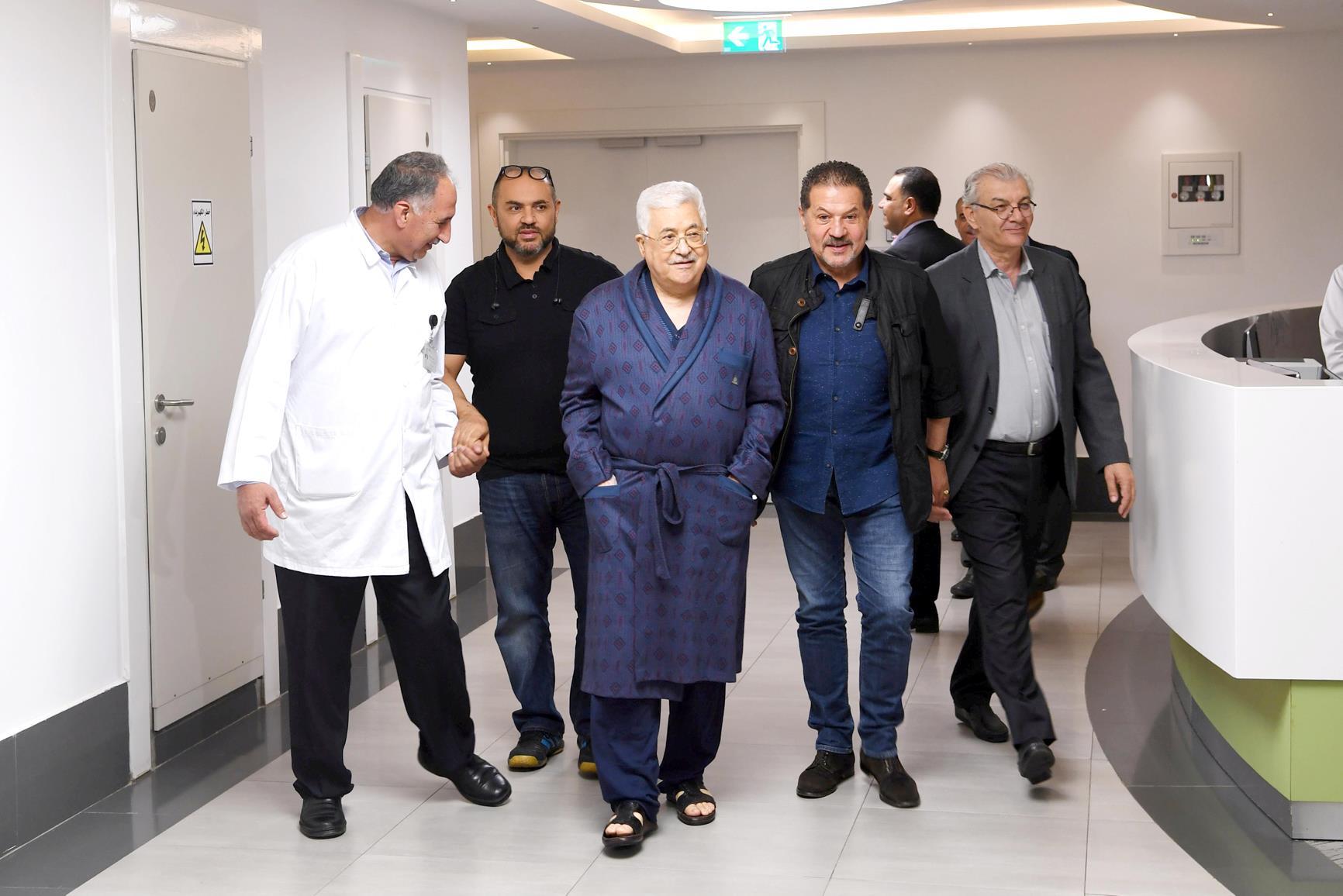 Le président palestinien Mahmoud Abbas évacué en Allemagne pour des examens médicaux