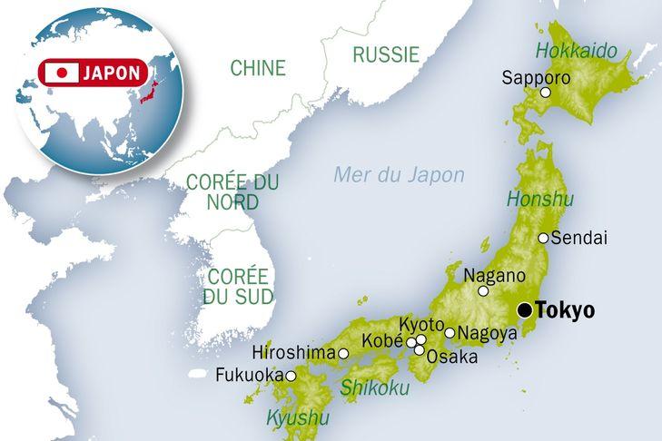 La tension monte entre Séoul et Tokyo autour de la carte du Japon sur le site des JO de Tokyo