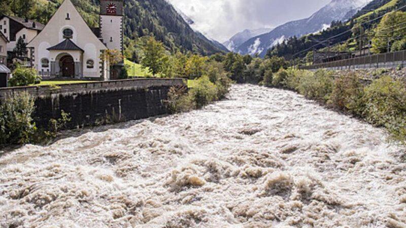 Suisse: Les dernières intempéries survenues dans le pays