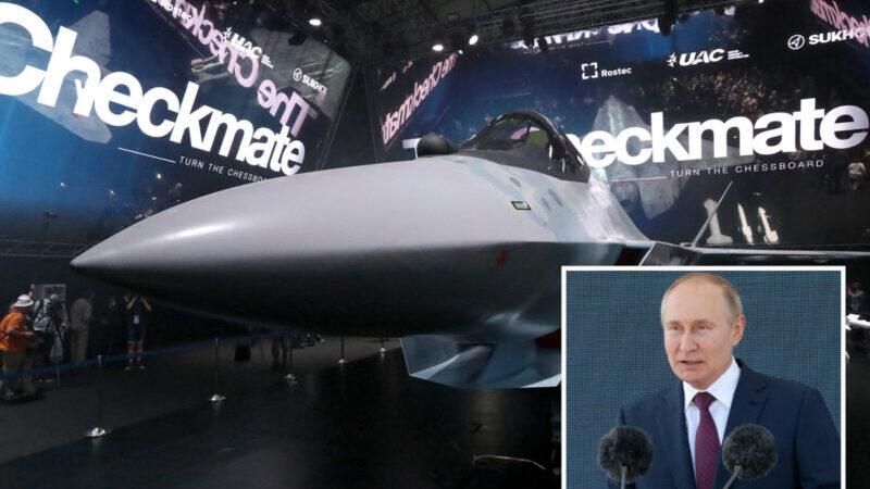 La Russie dévoile son dernier avion de chasse furtif