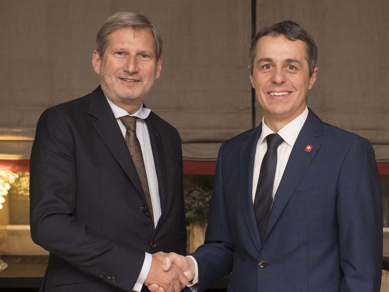 Suisse: L'avenir des relations entre la Confédération et l'UE