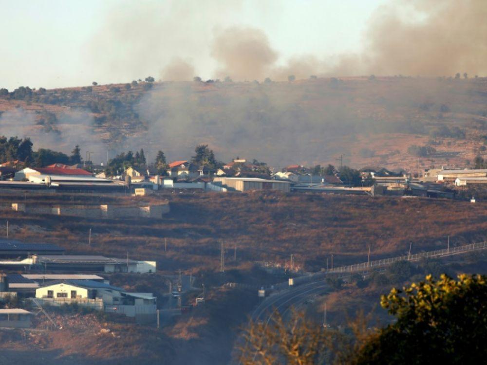 Israël: Tirs sur le Liban en représailles à des roquettes
