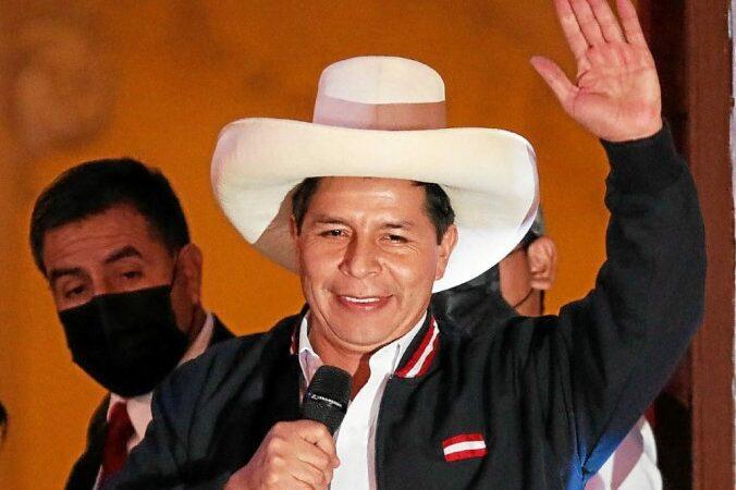 Lima: Pedro Castillo est le nouveau président du Pérou