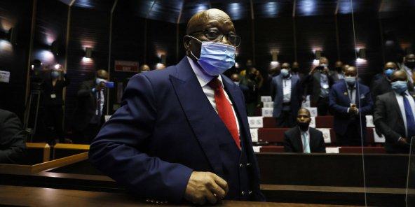 Afrique du Sud : Le procès pour corruption de Zuma reprend ce lundi