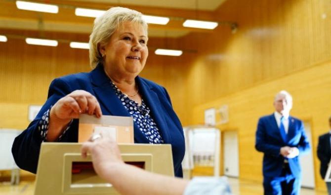 La Norvège: Défaite électorale du parti conservateur