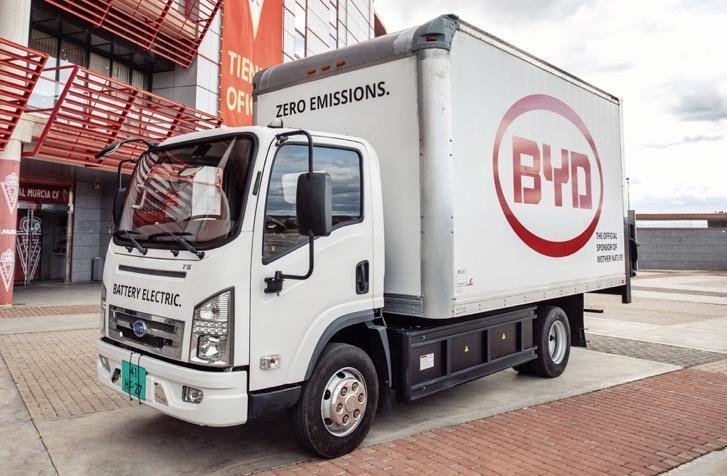 L'Equateur: Présentation du premier camion 100% électrique