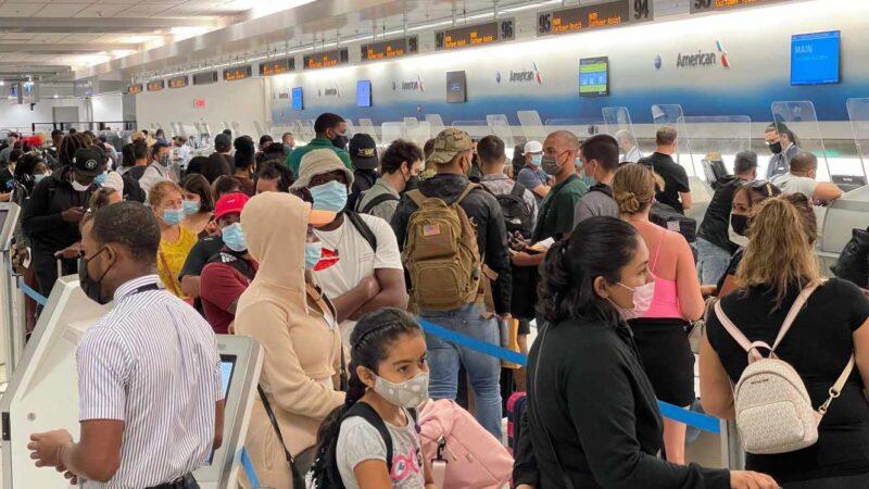 Les Etats-Unis rouvrent leurs frontières aux voyageurs européens vaccinés