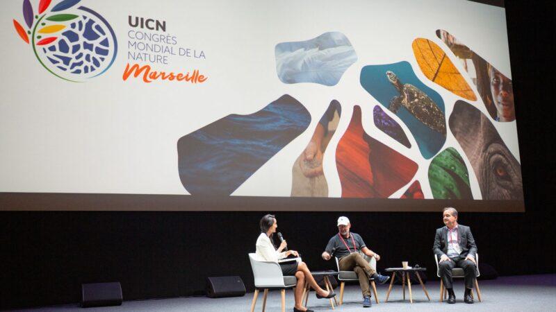 La France: Congrès mondial de la nature pour la conservation de la nature (UICN)
