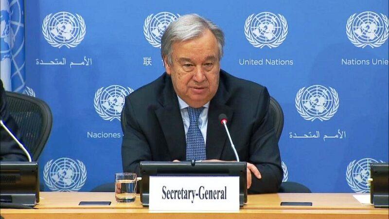 ONU-Sahara : Les points saillants du rapport remis par Antonio Guterres au Conseil de Sécurité